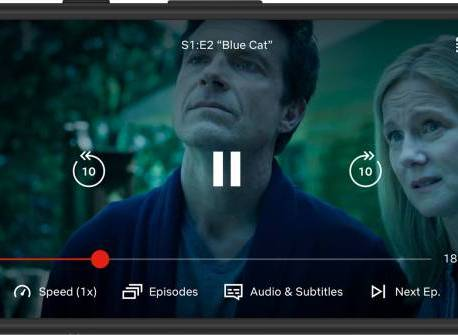 Netflix testing out variable playback speeds on mobile