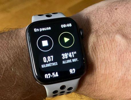 Nike Run Club devient autonome sur l'AppleWatch