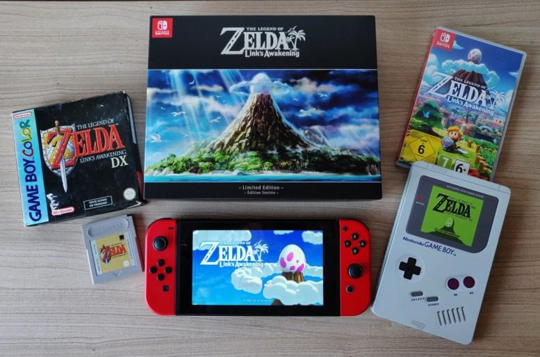 Zelda Link's Awakening Collector Steelbook GameBoy