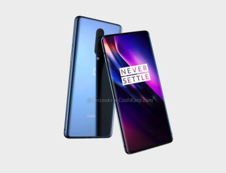 OnePlus 8 image renders out this early with punch-hole display