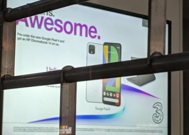 Pixel 4 pre-orders on Three UK will net you a free HP Chromebook 14