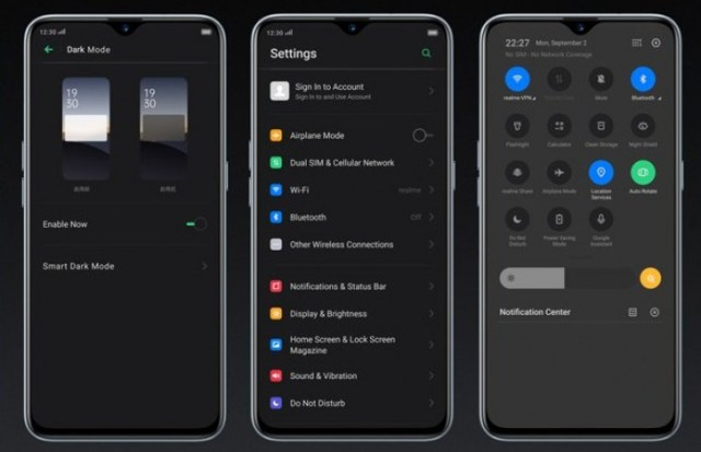 Realme 1 and Realme U1 update brings Dark Mode and latest security patches