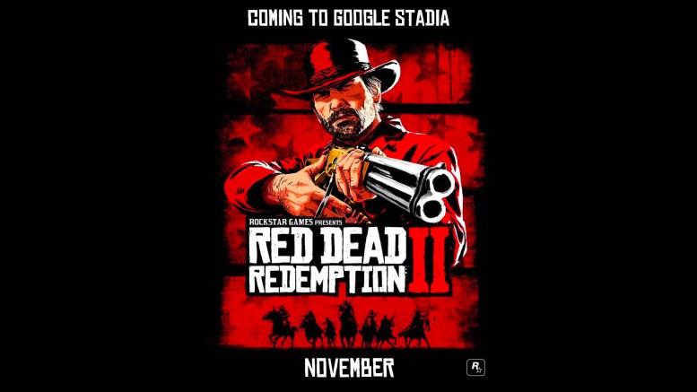 Red Dead Redemption II Google Stadia