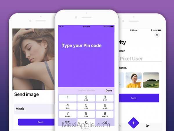 safe pixel iphone ipad 01 - Safe Pixel iPhone - Sécuriser et Partager Photos / Videos (gratuit)