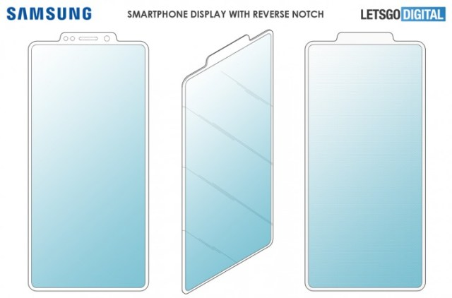 Samsung patents a reverse notch display, but will we ever see it come to life?