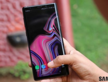 Samsung starts testing Android 10 for the Galaxy Note 9