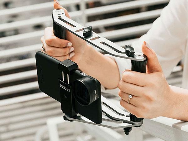 sandmarc film rig stabilisateur iphone smartphone maxiapple 01 - SandMarc Film Rig, Stabilisateur iPhone pour Réalisateur (video)