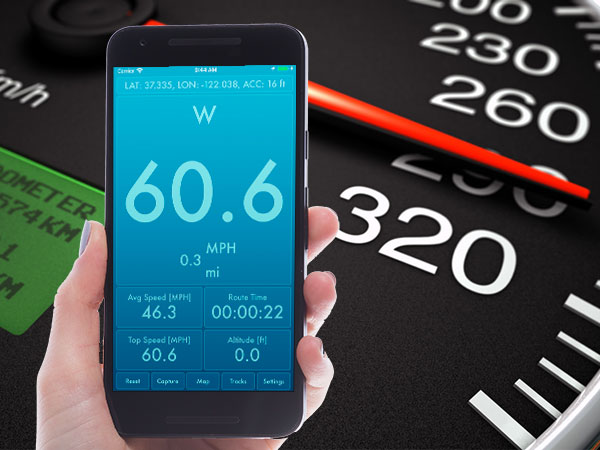 speed pro plus iphone ipad ios maxiapple 01 - Speed PRO+ iPhone iPad - Compteur de Vitesse Podomètre (gratuit)