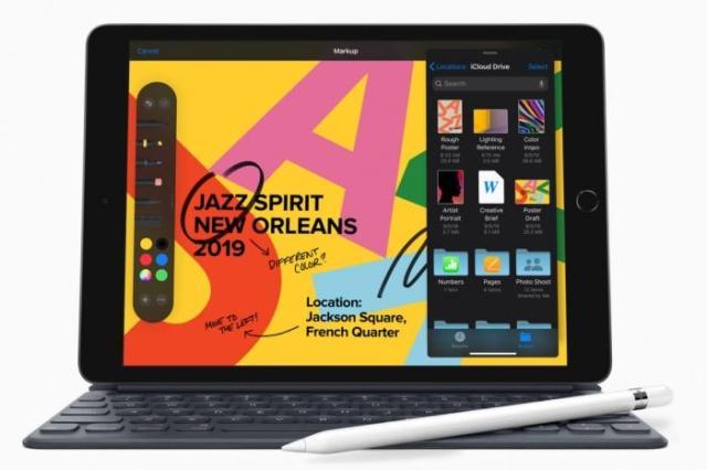 L'iPad OS fait aussi des merveilles sur cet iPad 7ème génération