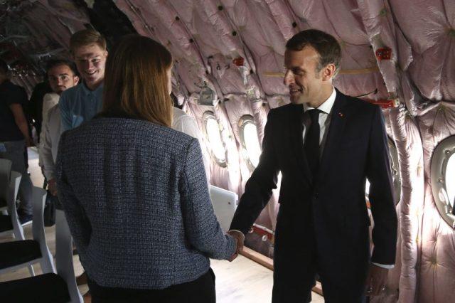 Emmanuel Macron a salué la réussite d'un fleuron industriel.