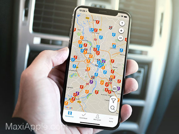 chargemap iphone ipad 01 - ChargeMap iPhone - Bornes de Recharge pour Voitures Electriques (gratuit)