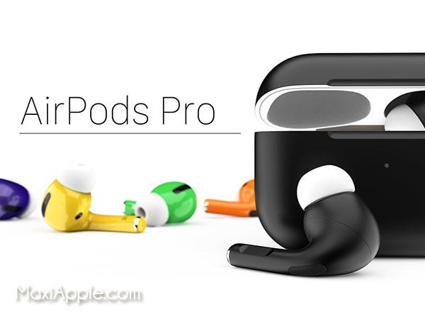 airpods pro colorware couleur personnalisation 02 - ColorWare donne de la Couleur aux AirPods Pro (images)