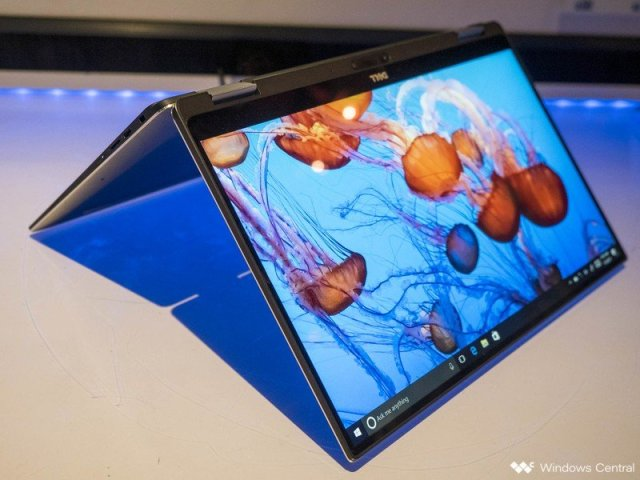 The Dell XPS 13 2-in-1.