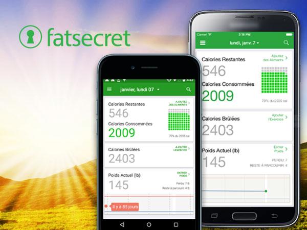 compteur de calories fatsecret iphone ipad 1 - FatSecret Compteur de Calories iPhone - Coach Forme et Minceur (gratuit)