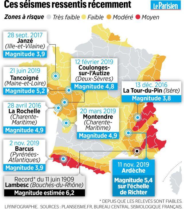 Fort séisme près de Montélimar : «J'ai senti mes pieds bouger, mes étagères ont commencé à se renverser»