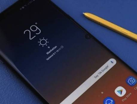 Galaxy Note 9 gets 120Hz display option but not physically supported