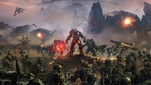 Official Halo Wars 2 artwork.