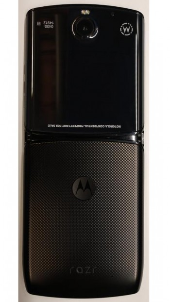 Images of Motorola RAZR appear in FCC documents ahead of press event
