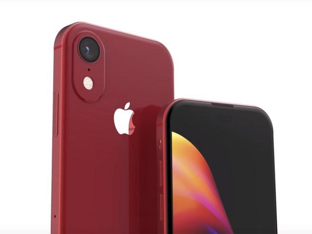 iphone se 2 2020 concept colors touch id ecran 1