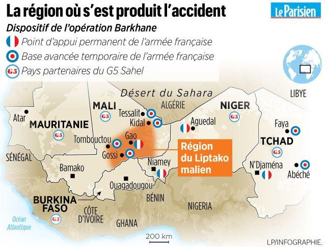 Militaires français tués au Mali : ce que l'on sait de l'accident d'hélicoptères