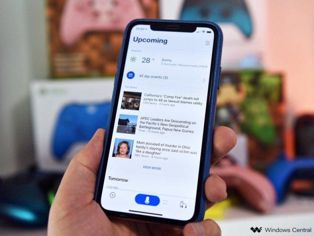 Cortana app for iOS