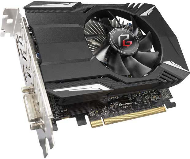 Phantom Gaming Radeon 550 2G d'ASRock