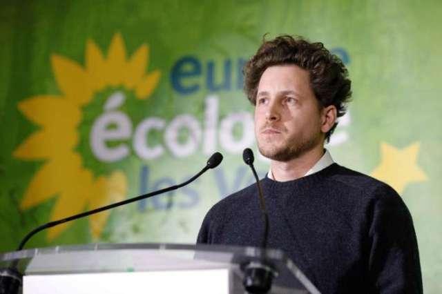 Julien Bayou,nouveau patron d'Europe Ecologie - Les Verts,le 30 novembre.