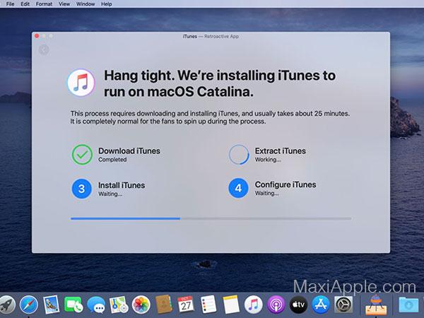 retroactive macos mac gratuit 02 - Retroactive Mac - Utiliser sur Catalina iTunes, iPhoto, Aperture (gratuit)