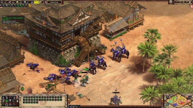 AoEII:DE with Enhanced Graphics pack