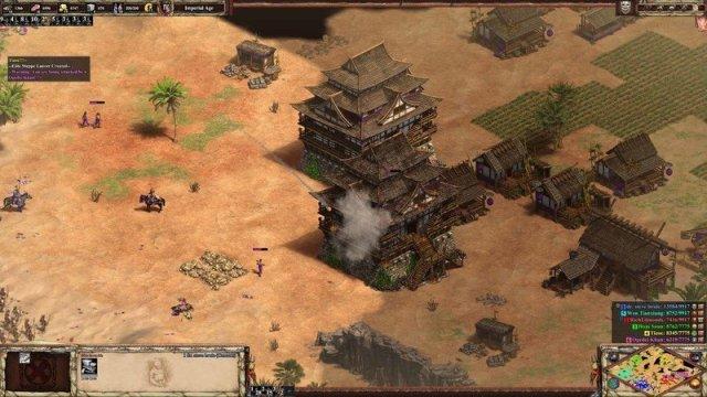 AoEII:DE castle attack