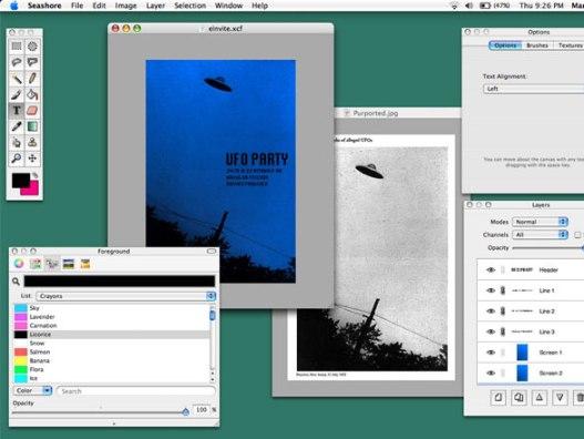 Seashore Mac OSX - Seashore Mac - Alternative à Photoshop Element (gratuit)