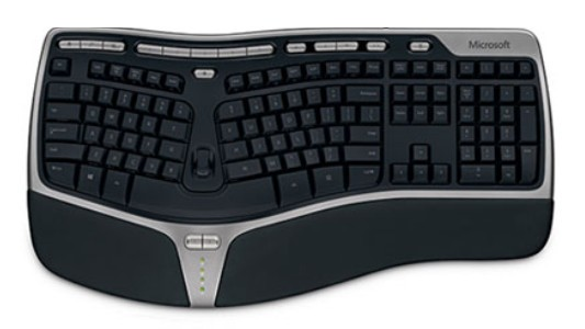 Microsoft Natural Ergonomic Keyboard-4000