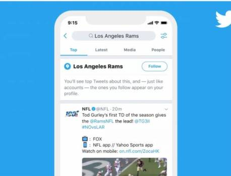 Twitter now lets you follow Topics on your timeline