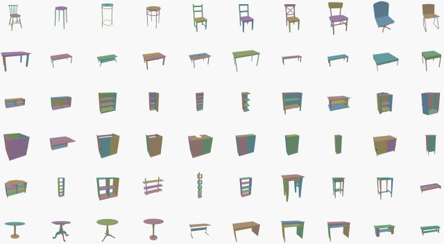 many different types of furniture