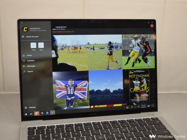 Winsta on Huawei Matebook X Pro