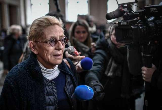 Isabelle Balkany, lors de l'ouverture du procès en appel pour fraude fiscale, le 11 décembre à Paris