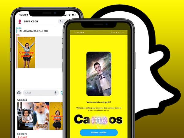snapchacameos snapchat cameo iphone gratuit 1 - Cameos, la Nouvelle Fonction DeepFake de Snapchat (video)