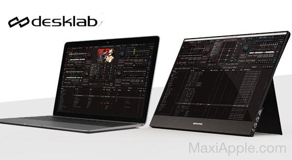 desklab ecran portable 4k tactile mac macbook iphone ipad 03 - Desklab, Ecran Portable Tactile 4k 15' pour Mac, iPhone, iPad (video)