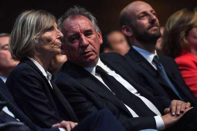Marielle de Sarnez et François Bayrou ont tous deux été mis en examen dans l'affaire des assistants parlementaires européens du MoDem.