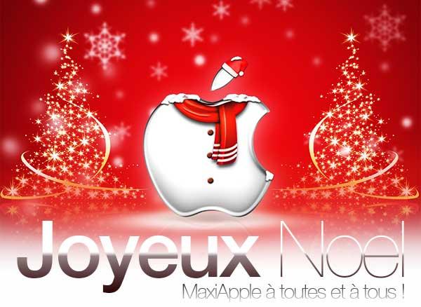 joyeux noel bonne fetes maxiapple - Joyeux Noël et Bonnes Fêtes MaxiApple à Tous !