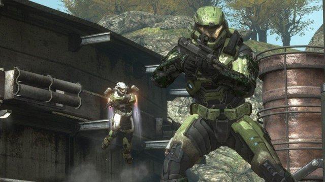 Halo: Reach multiplayer gameplay.