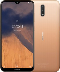 Nokia 2.3 in Sand color