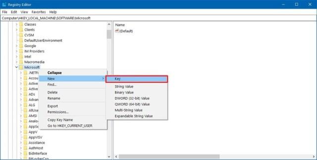 EdgeUpdate registry key creation