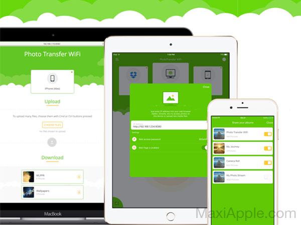 photo transfer wifi macos mac ios iphone ipad 1 - Photo Transfer WiFi iPhone Mac - Partager sans Fil Photos et Videos (gratuit)