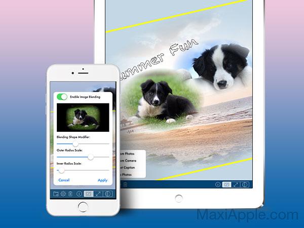 phototangler collage maker iphone ipad 1 - PhotoTangler iPhone iPad - Photo Collage pour les Fêtes (gratuit)