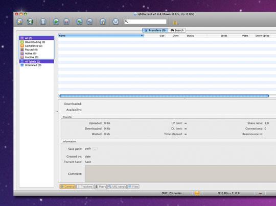 qBitTorrent Mac OSX - qBitTorrent Mac - Client BitTorrent et Agrégateur RSS (gratuit)