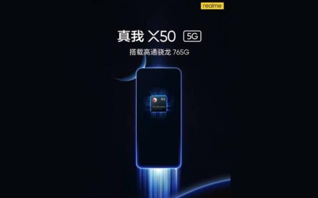 Realme X50 5G Qualcomm Snapdragon 765G