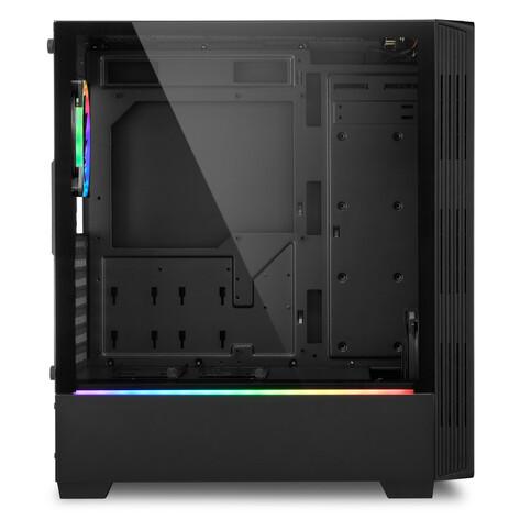 Boitiers Sharkoon RGB Lit 100 et 200