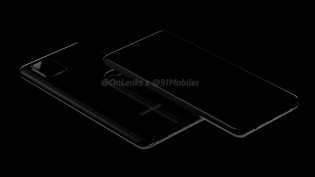 Leaked render of Galaxy Note10 Lite (aka A81)