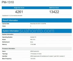 Sony Xperia 3 (PM-1310) at Geekbench